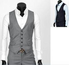 Fashion Classic Stylelish Gentleman Men's Vest by beatbbcustom