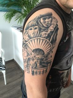 Tattoo von Astin Tattoo | Tattoo | Tattoos, Shoulder ...