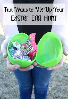 Easter Egg hunts are one of those memorable moments for kids, and these fun ways to mix up your Easter egg hunt make it more than just finding eggs.