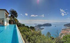 Villa for sale to rent Villefranche sur Mer Saint Jean Cap Ferrat closed domain high security