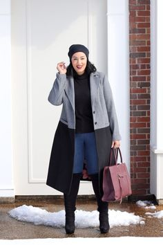 size winter outfits snow 40 Stylish Winter Outfits Ideas For Plus Size Women Plus Size Winter Outfits, Outfits Plus Size, Stylish Winter Outfits, Curvy Outfits, Trendy Plus Size Fashion, Plus Size Womens Clothing, Curvy Fashion, Womens Fashion, Size Clothing