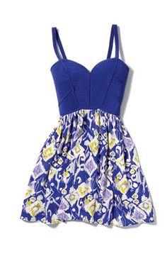 adorable summer sun dress! Bid day?