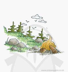 Magnolia Turning Leaves - Hiking Background