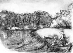 Home   Florence Boyd   Riverbend illustration.