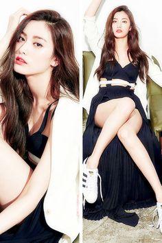 Nana photographed for IZE Magazine, April Asian Cute, Sexy Asian Girls, Japanese Fashion, Asian Fashion, Korean Beauty, Asian Beauty, Nana Afterschool, Im Jin Ah, Korean Model