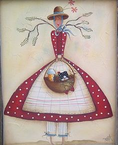 Class 490 'Country Angel'  By Deb Antonick  Sunday, May 5, 2013 11am-3pm  Acrylic