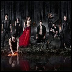 Hands down the sexiest cast on TV // The Vampire Diaries