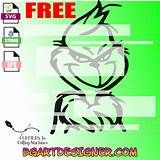 free grinch face svg files for cricut - Yahoo Image Search Results Grinch Svg Free, Grinch Cricut, Grinch Face Svg, Christmas In Heaven, Christmas Vinyl, Christmas Truck, Country Christmas, Grinch Christmas Decorations, Christmas Games