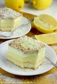 Sweets Cake, Cupcake Cakes, Dessert Dishes, Dessert Recipes, Baking Recipes, Cookie Recipes, Polish Desserts, Mini Pastries, Cake Tasting