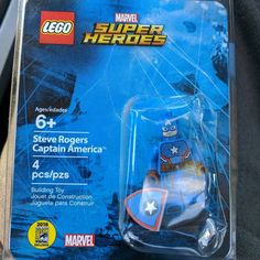 Look what I got myself as a birthday gift! #lego #marvel #captainamerica #comiccon #afol LEGO