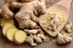 Ginger is the thick knotted underground stem (rhizome) of the plant Zingiber officinale that has been used for centuries in Asian cuisine and medicine. Ginger Properties, What Is Ginger, Spicy Spice, Ginger Plant, Ginger Benefits, Sushi Recipes, Plantation, Natural Health, Migraine