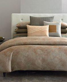 Closeout! Calvin Klein Home Oxidized Paisley Standard Pillowcase Bedding | 41% OFF
