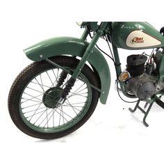 2002 - 1952 Green BSA Bantam motorbike, 15871 recorded miles, registration - AJK one recorded. 125cc Motorbike, Motorcycle, Bsa Bantam, D1, Motorbikes, Vehicles, Green, Motorcycles, Motorcycles