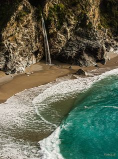 Great Camping and I don't even like camping!  McWay Falls. Julia Pfeiffer Burns State Park, California