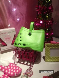 Now people who wear Crocs can have a matching purse
