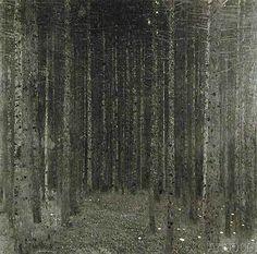 Gustav Klimt - Fir Forest I, 1909