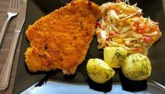 Kruche i soczyste kotlety schabowe w musztardzie Cauliflower, Tacos, Pork, Food And Drink, Rice, Chicken, Dining, Vegetables, Cooking