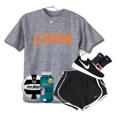 Almost exact ootd yesterday to the first day of VBall! Casual Outfits For Teens, Cute Lazy Outfits, Cute Outfits For School, Teenage Girl Outfits, Sporty Outfits, Athletic Outfits, Teen Fashion Outfits, Mode Outfits, Trendy Outfits