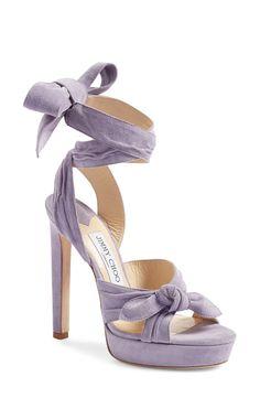 Jimmy Choo 'Vixen' Wraparound Platform Sandal (Women) available at #Nordstrom