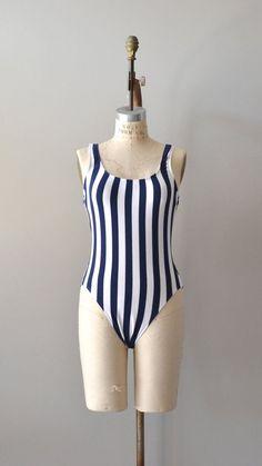 vintage 1980s #swimsuit / one piece bathing suit / Regatta…