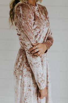 Emberlee Velvet Dress | ROOLEE