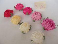 Bridal flower wedding flowers bridal flower peony by Mazziflowers, $24.00