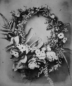 ferns and flowers Flower Crown Veil, Saint Yves, Language Of Flowers, Flower Garlands, Perfect World, Pretty Pictures, Beautiful Gardens, Cosmic, Flower Power