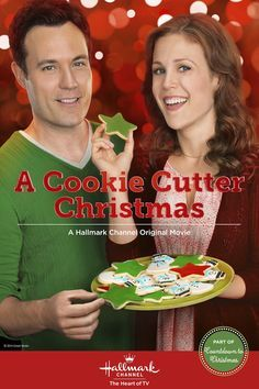 When Calls the Heart's Erin Krakow and David Haydn-Jones star in A Cookie Cutter Christmas, a tasty Hallmark Channel original movie. #hearties #ChristmasKeepsake