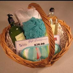 Spa basket.
