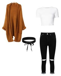 """""""Basic#7"""" by aicha-13 on Polyvore featuring mode, Boohoo en Rosetta Getty"""
