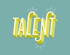 Fantastic hand-lettering work by New York-based art director and illustrator Lauren Hom. More typography & lettering inspiration via Behance