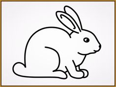 Free Three Rabbits Coloring Pages
