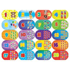 Masterpieces Educational Numbers Game Puzzle - 11238