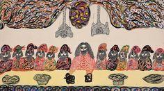 Josefa Tolra Vision Art, Art Brut, Outsider Art, Teaching Art, Art Forms, Unique Art, Folk Art, The Outsiders, Street Art