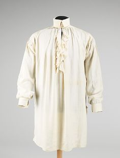 Extant Shirt, c. 1816-1817