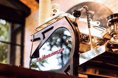 La Marzocco Strada EP espresso coffee machine. #lamarzocco #stradaep #machine #espressomachine #bar #coffeeshop #epic #coffee #epiccoffee #yogyakarta http://ift.tt/1VbgBi2