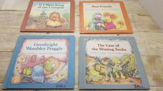 Set of 4 Fraggle Rock Books, 1984, Jim Henson, vintage kids book by RandomGoodsBookRoom on Etsy
