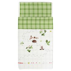 VANDRING IGELKOTT Crib duvet cover/pillowcase - IKEA If I were to put a crib in the cabin upstairs