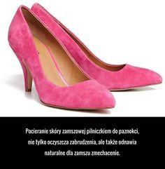 Super trik na wyczyszczenie zamszowych butów! Pumps, Heels, Diy And Crafts, Life Hacks, Beauty Hacks, Peep Toe, Fashion, Heel, Moda