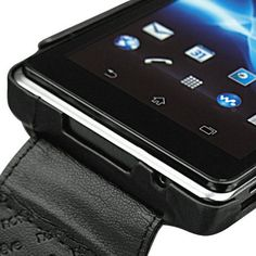 Premium Leather Flip Case for Xperia V Sony Xperia, Flipping, Mobiles, Smart Watch, Smartphone, Leather, Accessories, Smartwatch, Mobile Phones