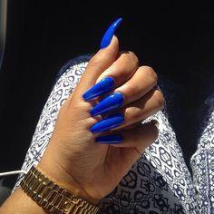Blue coffin nails, blue acrylic nails, acrylic gel, bright summer acrylic n Blue Coffin Nails, Blue Acrylic Nails, Stiletto Nails, Acrylic Gel, Matte Nails, Coffin Acrylic Nails Long, Glitter Nails, Dope Nails, Fun Nails
