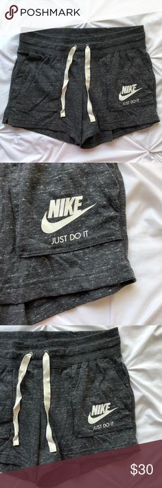 "Women's Nike Just Do It Shorts Women's Nike Just Do It Shorts 40% polyester, 60% cotton Size Medium 3.5"" inseam  NWT Regular Price $35  🚫 No trades 📦 Same or next business day shipping!  ✨ Open to reasonable offers 💡 Bundle to save on shipping Nike Shorts"