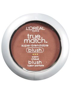 """L'Oreal True Match - InStyle Best Beauty Buys 2013 Inexpensive Blush Winner #instylebbb    Even self-proclaimed makeup snob VanLeeuwen is """"obsessed"""" with this powder. Tender Rose, a cool pink, is the most popular, but all 12 oil-free colors """"create a luminous texture and actually smooth skin,"""" he says. """"It's a top-level product masquerading as a drugstore brand.""""  $11"""