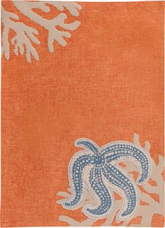 Starfish Cloth Placemat (Set of 4)