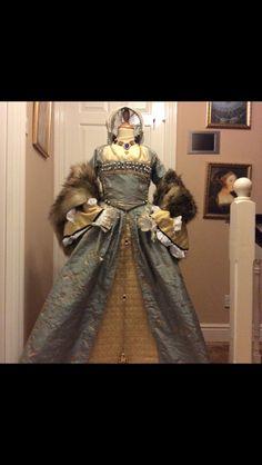 My gown! @thatperioddrama