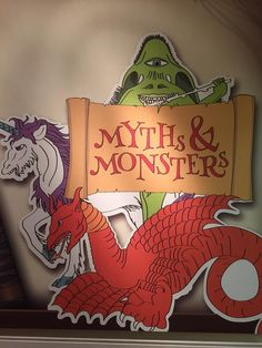 """""""It's the opening weekend of our Myths and Monsters exhibit. Marvel at peculiar specimens and discover their stories! Myths & Monsters, Opening Weekend, Exhibit, Marvel, Twitter, Projects, Log Projects, Blue Prints"""
