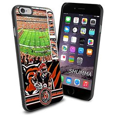 """NFL-Cincinnati Bengals iPhone 6 4.7"""" Case Cover Protector for iPhone 6 TPU Rubber Case SHUMMA http://www.amazon.com/dp/B00U13S5C6/ref=cm_sw_r_pi_dp_YhMhwb1XXC5T6"""