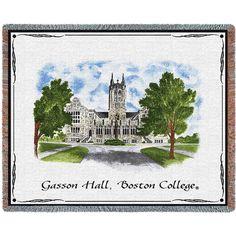 Boston College BC Framed Lithograph Print