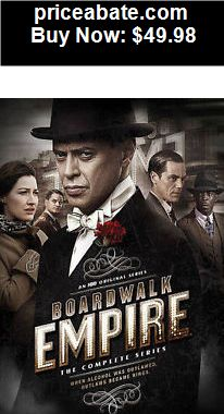 Music-Albums: Boardwalk Empire The Complete Series DVD 20-Disc Box Set NEW & Sealed - BUY IT NOW ONLY $49.98