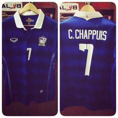 Support #Thailand in #AFFSuzukiCup Final!!! 2014 against #Malaysia  My idol #CharylChappuis